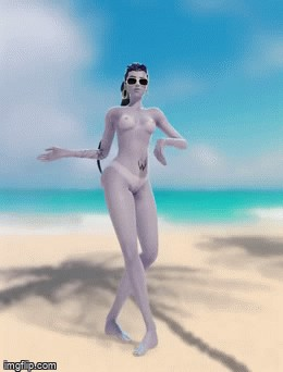 market anime gif – widowmaker dancing nude(soundchaser128)